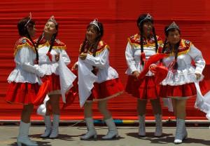 APTOPIX Peru International Women Day