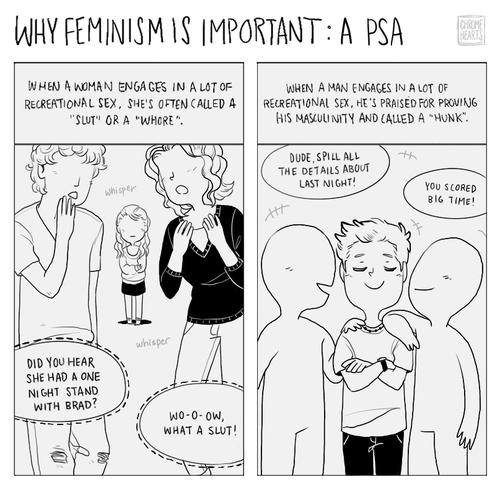 feminist meme comic