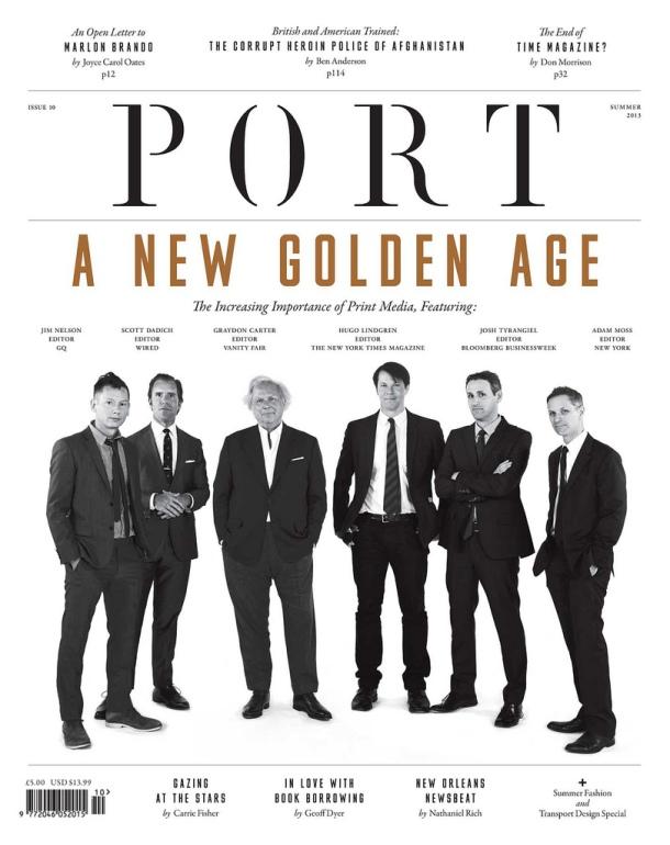 magazine editors port