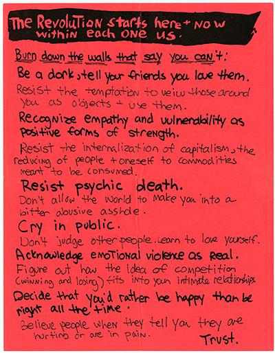 Riot Grrl Manifesto
