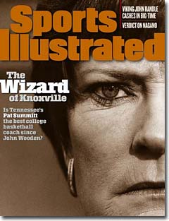 Pat Summitt on the cover of Sports Illustrated