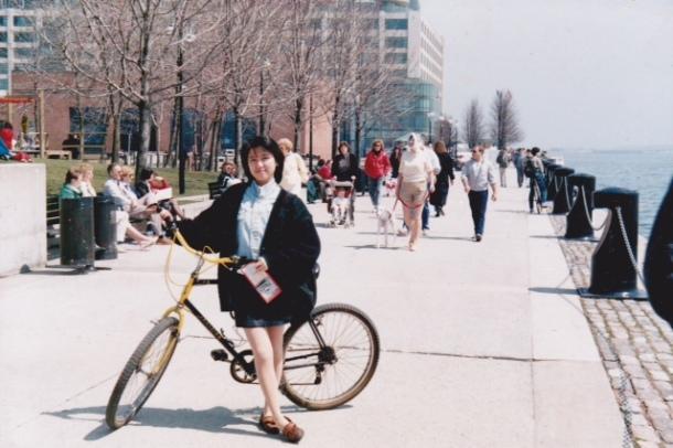 1990, Ji-Ji, beginning a new life in Toronto