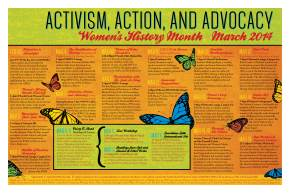 Announcing Brown's Women's History Month 2014: Activism, Action, and Advocacy