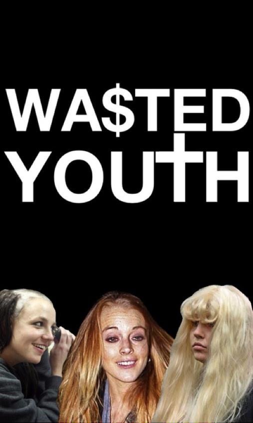 """Folks at society 6 call this an """"art print"""" (http://society6.com/HausOfBrandon/Wasted-Youth-Britney-Amanda-Lindsay#1=45)"""